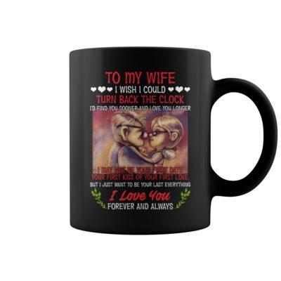hh 400x400 - Carl and Ellie  to my wife i wish i could turn back the clock i'd find mug