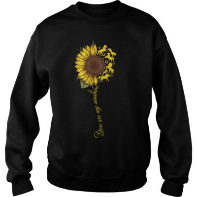 You are my sunshine sunflower horse shi 400x400 - You are my sunshine sunflower horse shirt