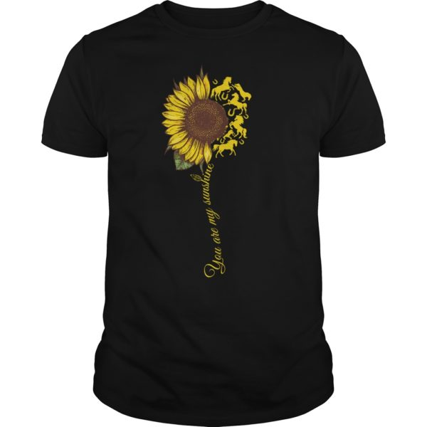 You are my sunshine sunflower horse shirt 600x600 - You are my sunshine sunflower horse shirt