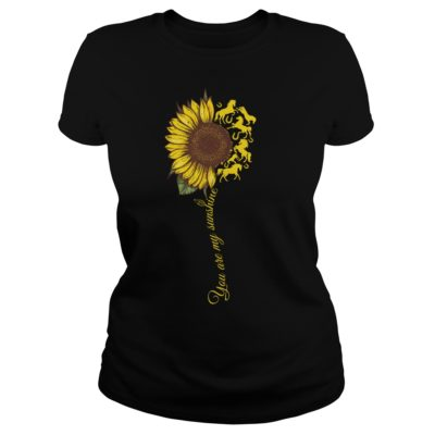 You are my sunshine sunflower horse vvvvv 400x400 - You are my sunshine sunflower horse shirt