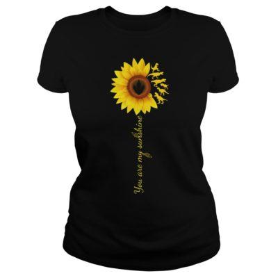 You are my sunshine sunflower t rex shi 400x400 - You are my sunshine sunflower T-Rex shirt