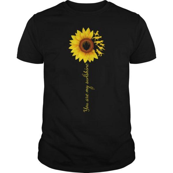 You are my sunshine sunflower t rex shirt 600x600 - You are my sunshine sunflower T-Rex shirt