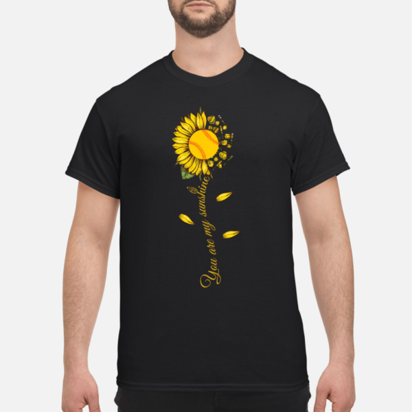 sunflower you are my sunshine shirt men s t shirt black front 1 600x600 - Sunflower you are my sunshine softball shirt