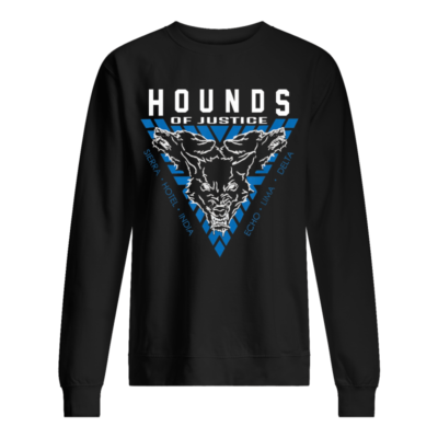 the shield hounds of justice authentic shirt unisex sweatshirt jet black front 400x400 - The Shield Hounds of Justice Authentic shirt