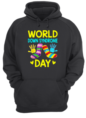 world down syndrome day shirt unisex hoodie jet black front 292x400 - World down syndrome day shirt, hoodie