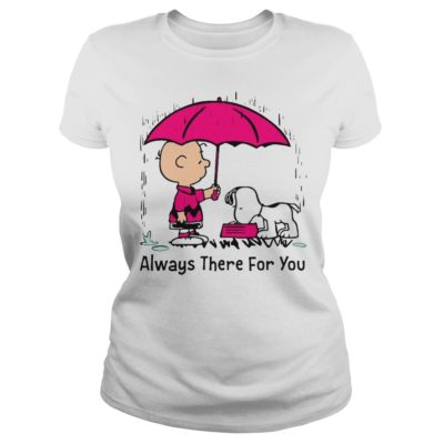 Snoopy v 400x400 - Charlie Brown and Snoopy always there for you shirt