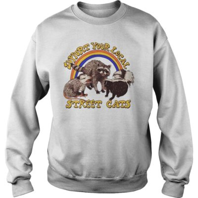 Support your local street cats shi 400x400 - Support your local street cats shirt, hoodie