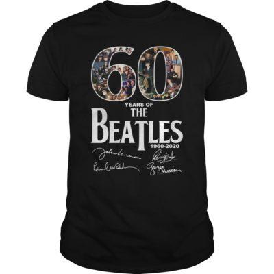 The Beatles 400x400 - 60 years of The Beatles shirt, hoodie