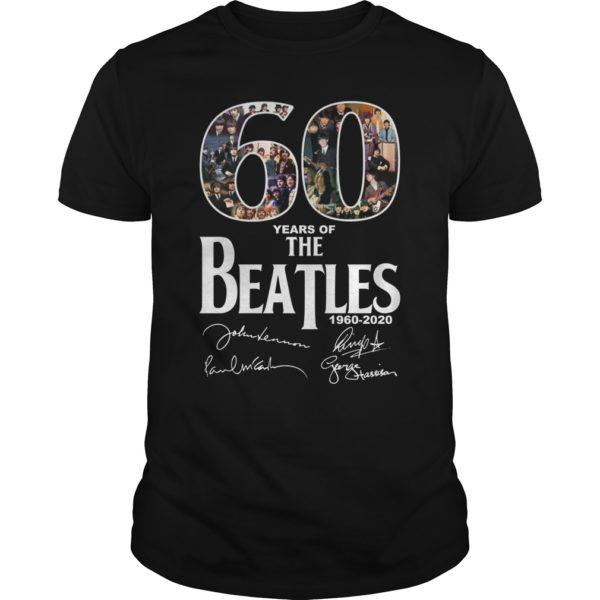 The Beatles 600x600 - 60 years of The Beatles shirt, hoodie
