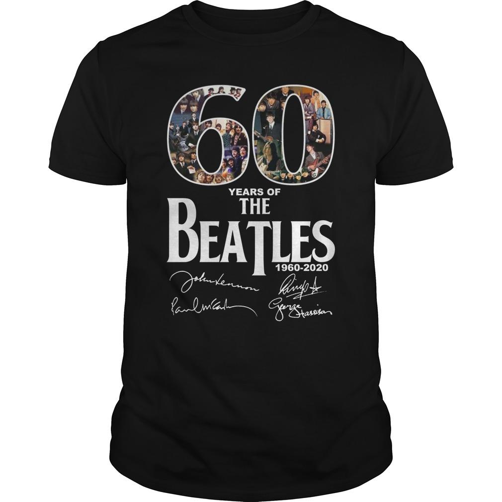 The Beatles - 60 years of The Beatles shirt, hoodie