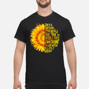 shes a unflower shirts men s t shirt black front 1 300x300 - She's a sunflower strong and bold and true to herself shirt