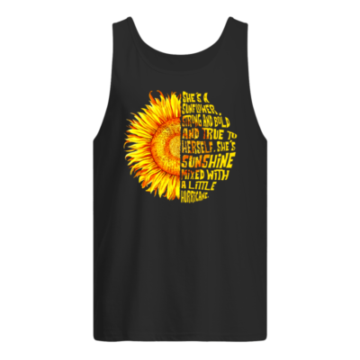 shes a unflower shirts men s tank top black front 400x400 - She's a sunflower strong and bold and true to herself shirt