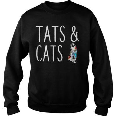 tats and cats shirtvvv 400x400 - Tats and cats shirt, hoodie