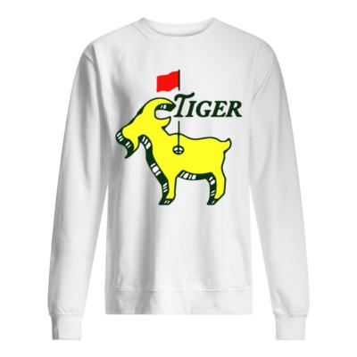 tiger shirt unisex sweatshirt arctic white front 400x400 - Tiger Goat Flag shirt, hoodie