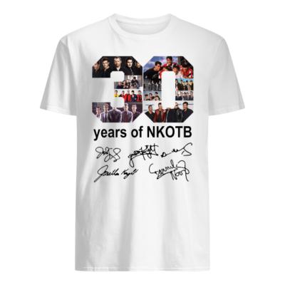 30 years of nkotb shirt men s t shirt white front 400x400 - 30 years of NKOTB shirt, hoodie