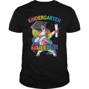 Unicorn Kindergarten nailed it 300x300 - Unicorn Kindergarten nailed it shirt
