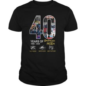 Years of Depeche 19802020 Shirt 300x300 - 40 Years of Depeche Mode 1980-2020 shirt