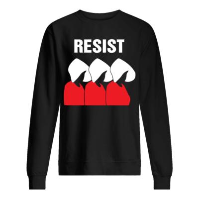 the handmaids tale resist shirt unisex sweatshirt jet black front 400x400 - The Handmaid's Tale Resist shirt, hoodie
