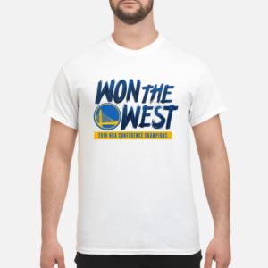 wariors won the west shirt men s t shirt white front 1 300x300 - Warriors Won the west shirt