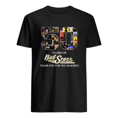 50 years of bob seger thank you for the memorie shirt men s t shirt black front 400x400 - 50 years of Bob Seger thank you for the memories shirt