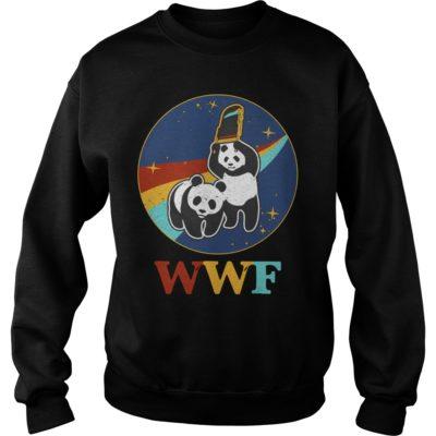 WWF panda Wrestling NASAvvv 400x400 - WWF panda Wrestling NASA shirt