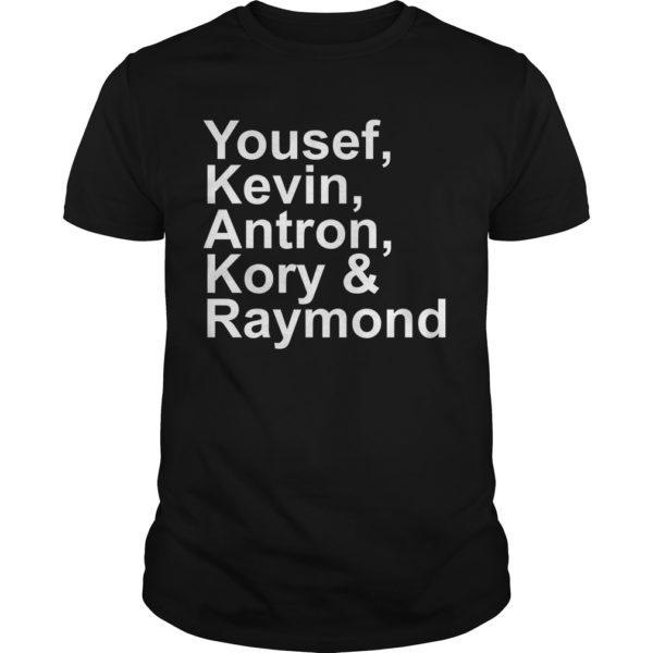 Yousef kevin antron kory and raymond shirt 600x600 - Yousef kevin antron kory and raymond shirt