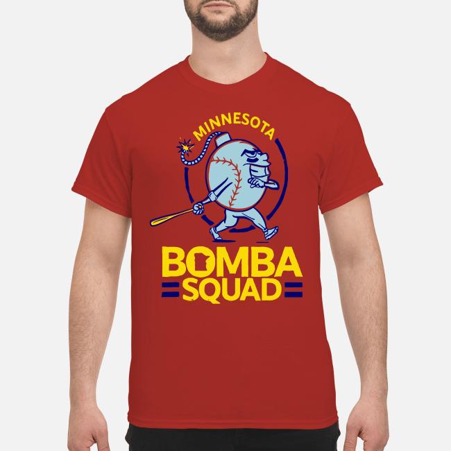 minnesota bomba squad shirt hoodie men s t shirt red front 1 - Minnesota bomba squad shirt, hoodie