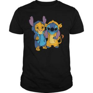s 300x300 - Simba and Stitch shirt