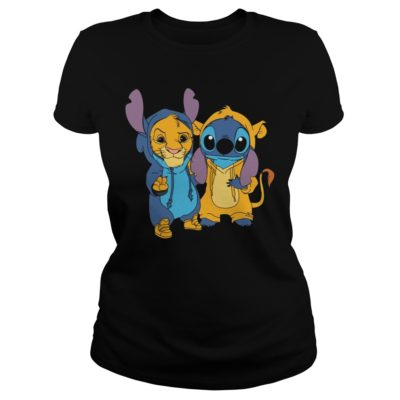 sss 400x400 - Simba and Stitch shirt