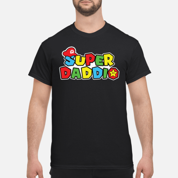 super daddio shirt hoodie men s t shirt black front 1 600x600 - Super daddio shirt, hoodie