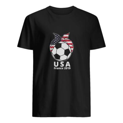 women usa soccer france 2019 shirt men s t shirt black front 400x400 - Women USA Soccer France 2019 shirt