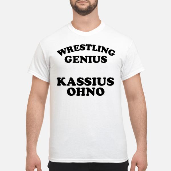 wrestling genius kassius ohnos shirt men s t shirt white front 1 600x600 - Wrestling Genius Kassius Ohno shirt