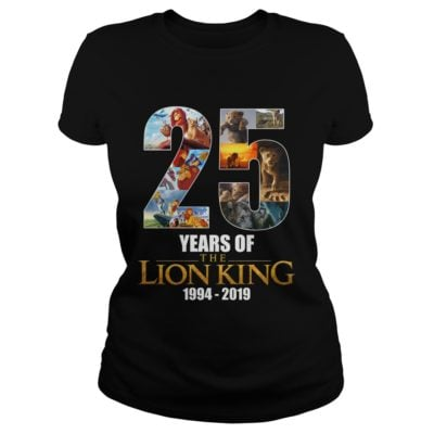 25 years of TheLion King sh 400x400 - 25 years of The Lion King shirt