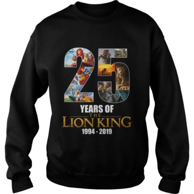 25 years of TheLion King shirtvvv 400x400 - 25 years of The Lion King shirt