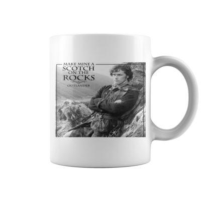 Make mine a scotch on the rocks Outlander mug 400x400 - Make mine a scotch on the rocks Outlander mug