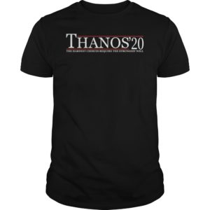 Thanos 20 the hardest choices require the strongest wll shirt 300x300 - Thanos 20 the hardest choices require the strongest will  shirt