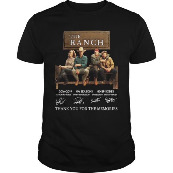 The Ranch thank you for the memories shirt 600x600 - The Ranch 2016-2019 thank you for the memories shirt