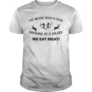 Ive never seen a cave drawing of a salad we eat meat shirt 300x300 - I've never seen a cave drawing of a salad we eat meat shirt