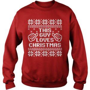 dav 300x300 - This guy loves Christmas sweater