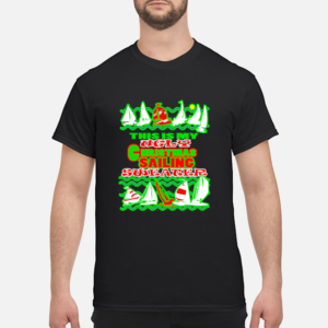 this is my ugly christmas sailing sweater men s t shirt black front 1 300x300 - This Is My Ugly Christmas Sailing sweater