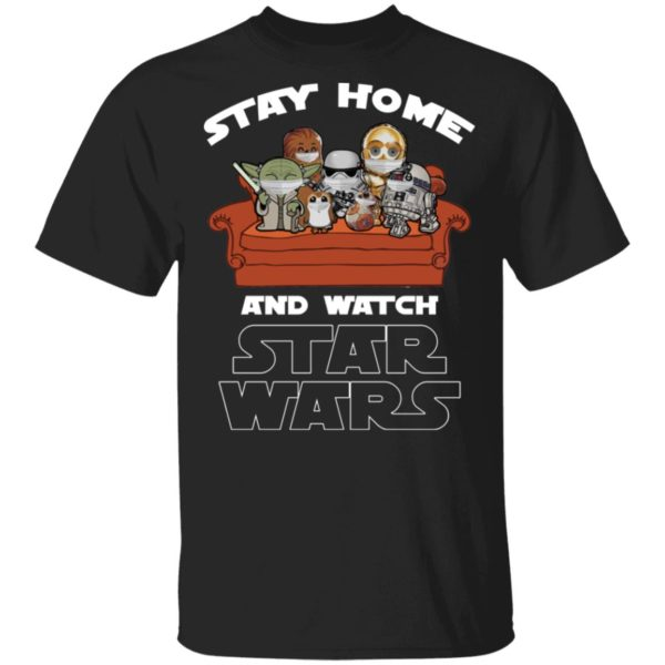 redirect 234 600x600 - Stay home and watch Star Wars shirt