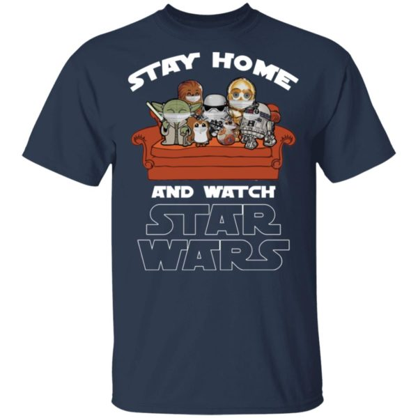 redirect 235 600x600 - Stay home and watch Star Wars shirt