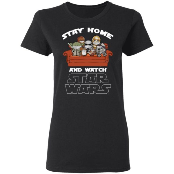 redirect 236 600x600 - Stay home and watch Star Wars shirt