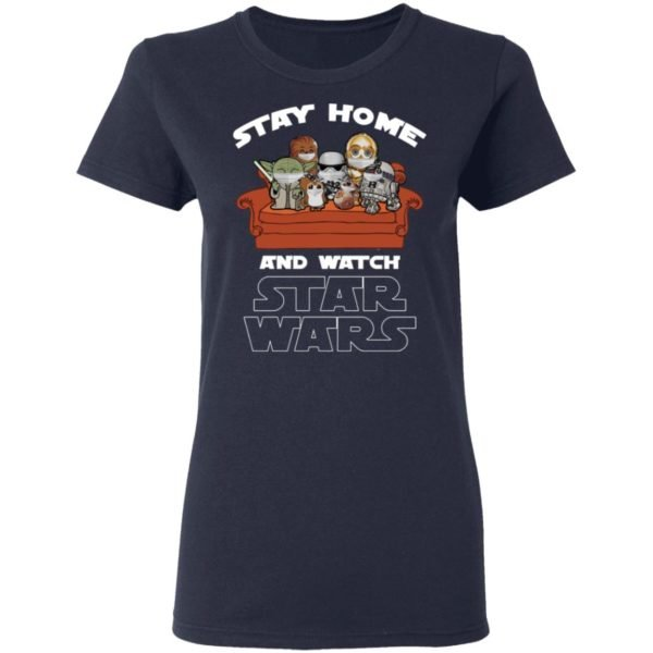 redirect 237 600x600 - Stay home and watch Star Wars shirt