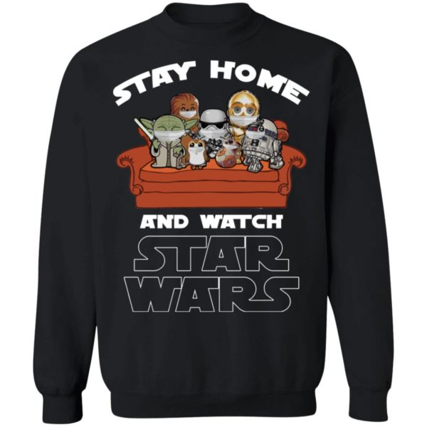 redirect 242 600x600 - Stay home and watch Star Wars shirt