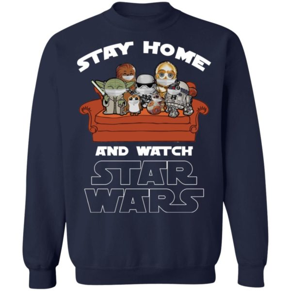 redirect 243 600x600 - Stay home and watch Star Wars shirt