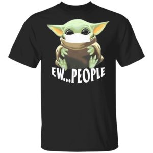 redirect 274 300x300 - Baby Yoda wearing mask ew people shirt