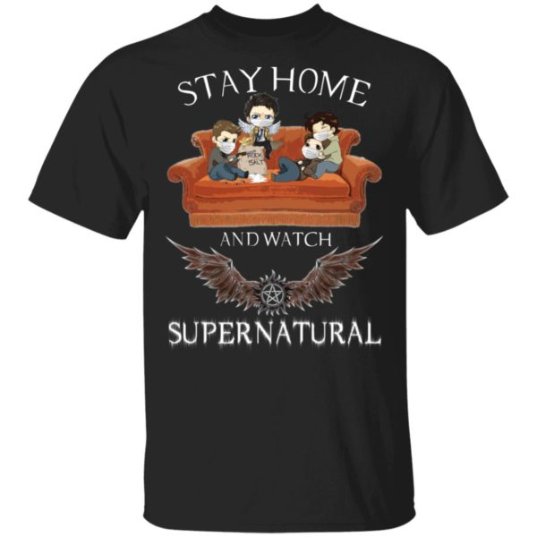 redirect 314 600x600 - Stay home and  watch Supernatural shirt