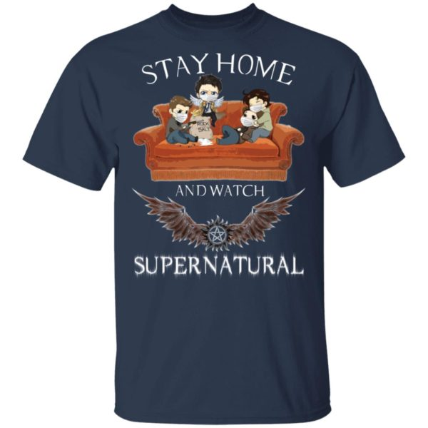 redirect 315 600x600 - Stay home and  watch Supernatural shirt