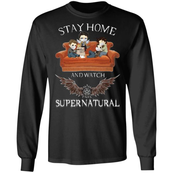 redirect 318 600x600 - Stay home and  watch Supernatural shirt